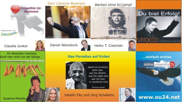 Experten-Webinare der OU24 09.KW 2013