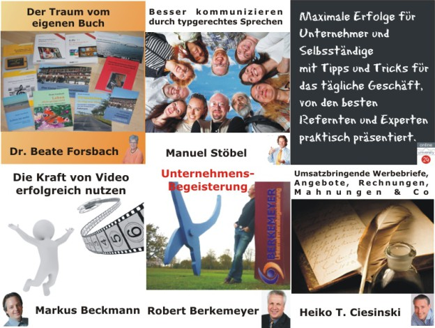 Experten-Webinare der OnlineUniversity24 KW 14-2013