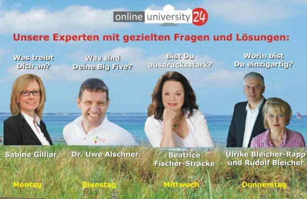 Experten Webinare der Onlineuniversity24 in der KW28-2013