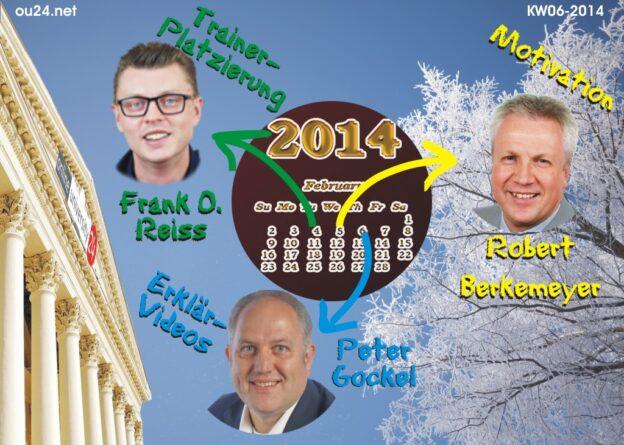 OU24-Experten-Webinare in der KW 06-2014: Trainer-Marketing, Mitarbeiter-Motivation, Erklär-Videos